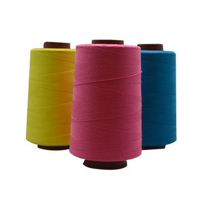 Spun polyester Core thread